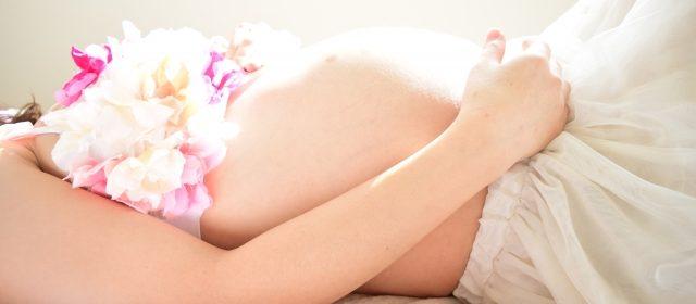 妊娠線 フォト