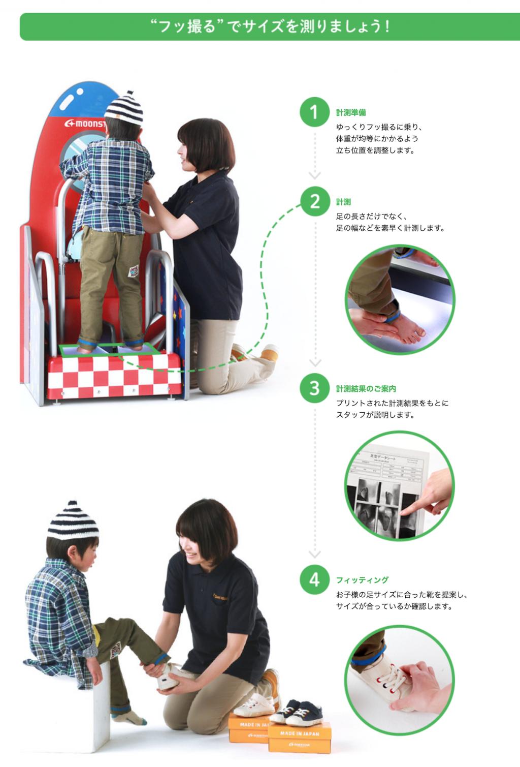 子ども靴専門店のゲンキ・キッズ|お子様の正しい足のサイズ知っていますか?