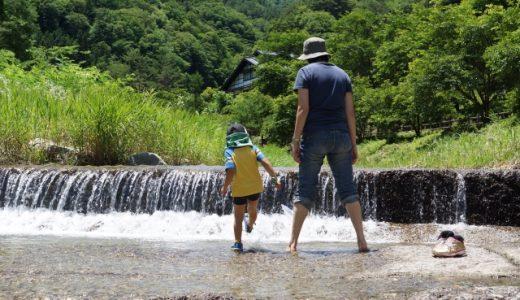 水遊び 親子