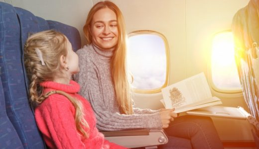 飛行機 子供2