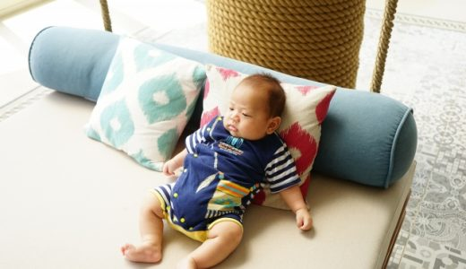 赤ちゃん リビング