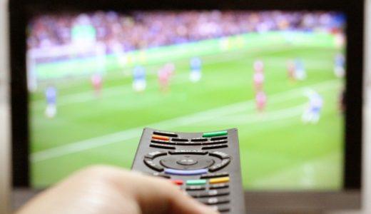 サッカー テレビ観戦
