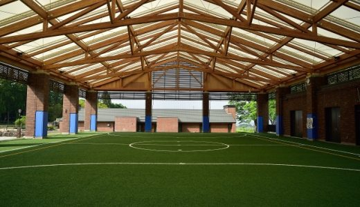 屋内 練習場